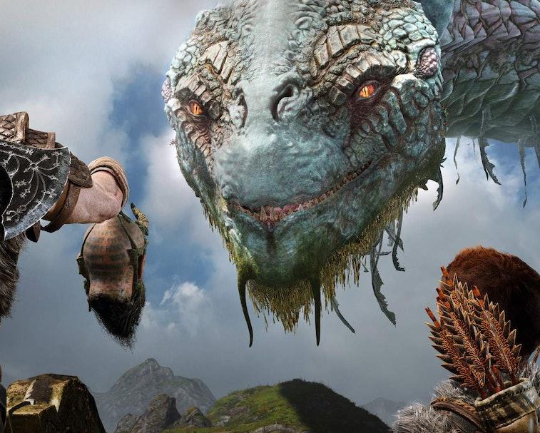A screenshot of 'God of War'
