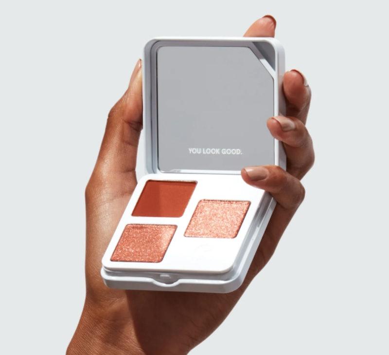 Glossier's new Monochromes eyeshadow palette.