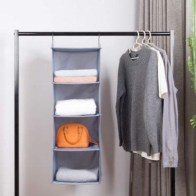 DonYeco Hanging Closet Organizer and Storage