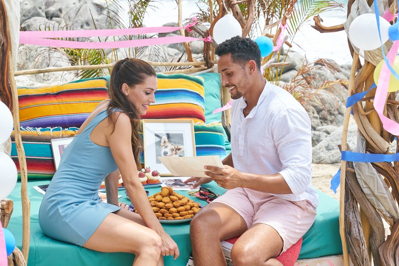Becca Kufrin and Thomas Jacobs broke up during the season finale of Bachelor in Paradise. Photo cour...