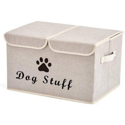 Morezi Dog Toys Storage Basket