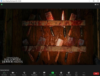 These scary Zoom backgrounds for Halloween include creepy haunted houses and murder scenes.