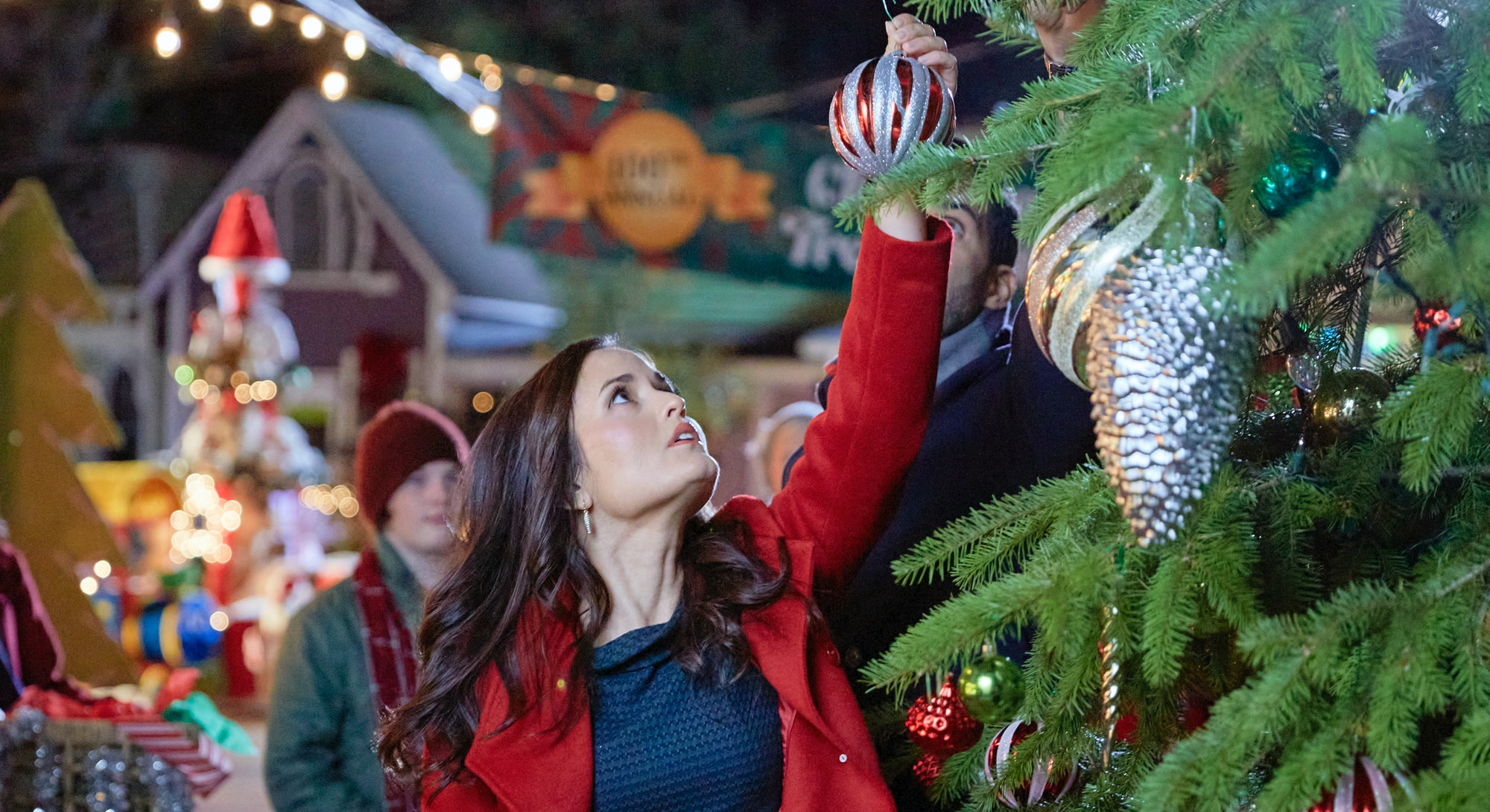 The 2021 Hallmark Christmas movie lineup begins in October.