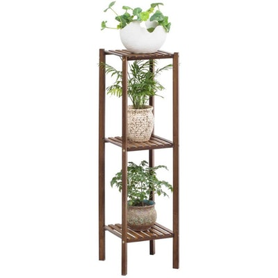 Bamboo Utility 3 Tier Plant Stand Rack