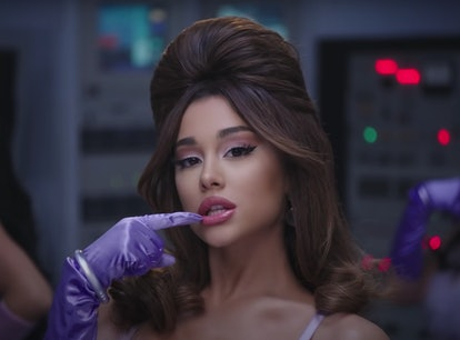"Ariana Grande in the ""34 + 35"" music video."