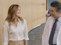 Meredith Grey (Ellen Pompeo) gets courted to join a hospital in Minnesota.