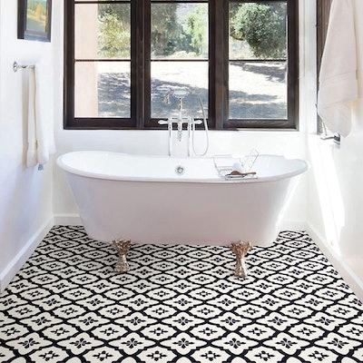 FloorPops Peel & Stick Tile Decals (10 Sheets)