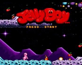 jelly boy title screen