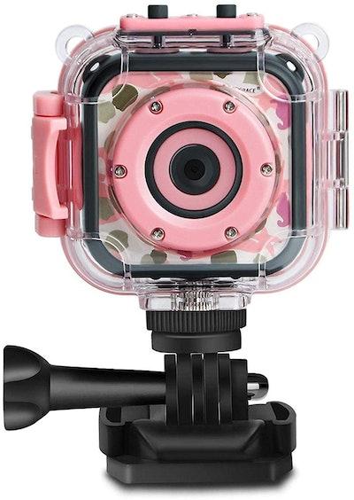 PROGRACE Waterproof Digital Camera