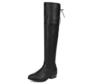 DREAM PAIRS Over The Knee Riding Boots