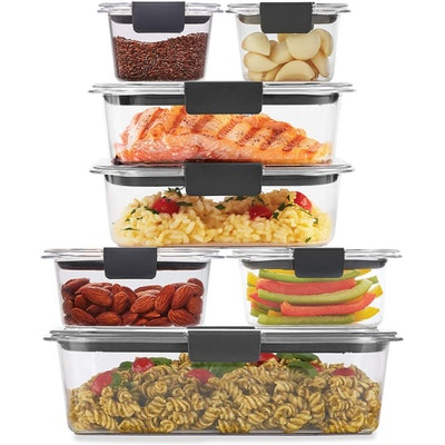 Rubbermaid Brilliance Storage Food Container (14 Pieces)