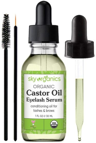 Organic Castor Oil Eyelash Serum