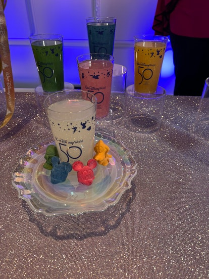 Disney World's 50th anniversary's most Instagram-worthy food and drink includes a colorful non-alcoh...