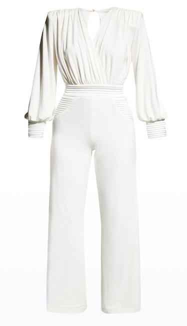 ZHIVAGO's white jumpsuit.