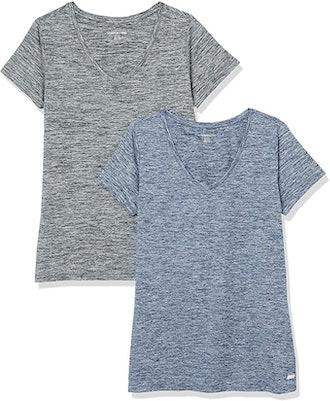 Amazon Essentials Tech Stretch T-Shirt (2-pack)