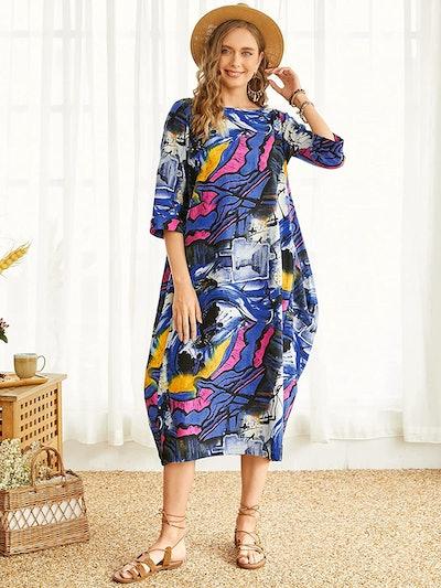 FLORHO Kaftan Maxi Dress