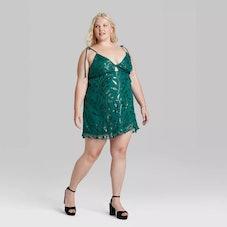 Wild Fable Women's Sleeveless Cut Out Skater Dress