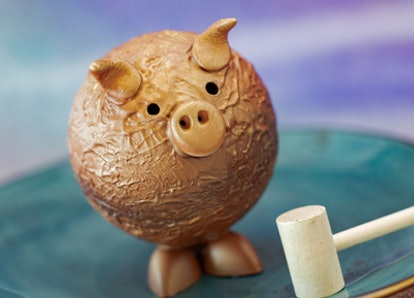 Disney World's 50th anniversary's most Instagram-worthy food and drink includes a pig-shaped piñata.