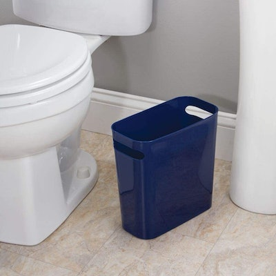 mDesign Small Trash Can