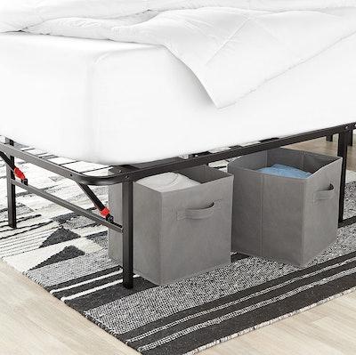 Amazon Basics Collapsible Fabric Storage Cubes (6-Pack)