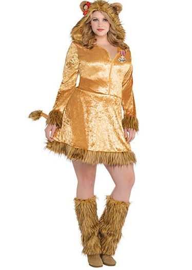 Adult Cowardly Lion Costume Plus Size - Wizard of Oz