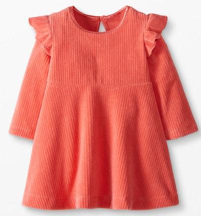 Baby Ribbed Velour Dress