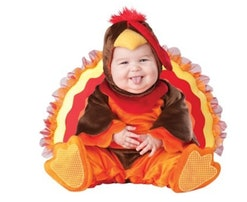 baby turkey Thanksgiving costume