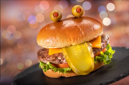 Disney World's 50th anniversary's Instagrammable food includes a Mr. Toad Burger.