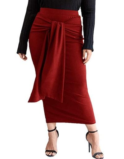 SheIn High-Waist Bodycon Skirt