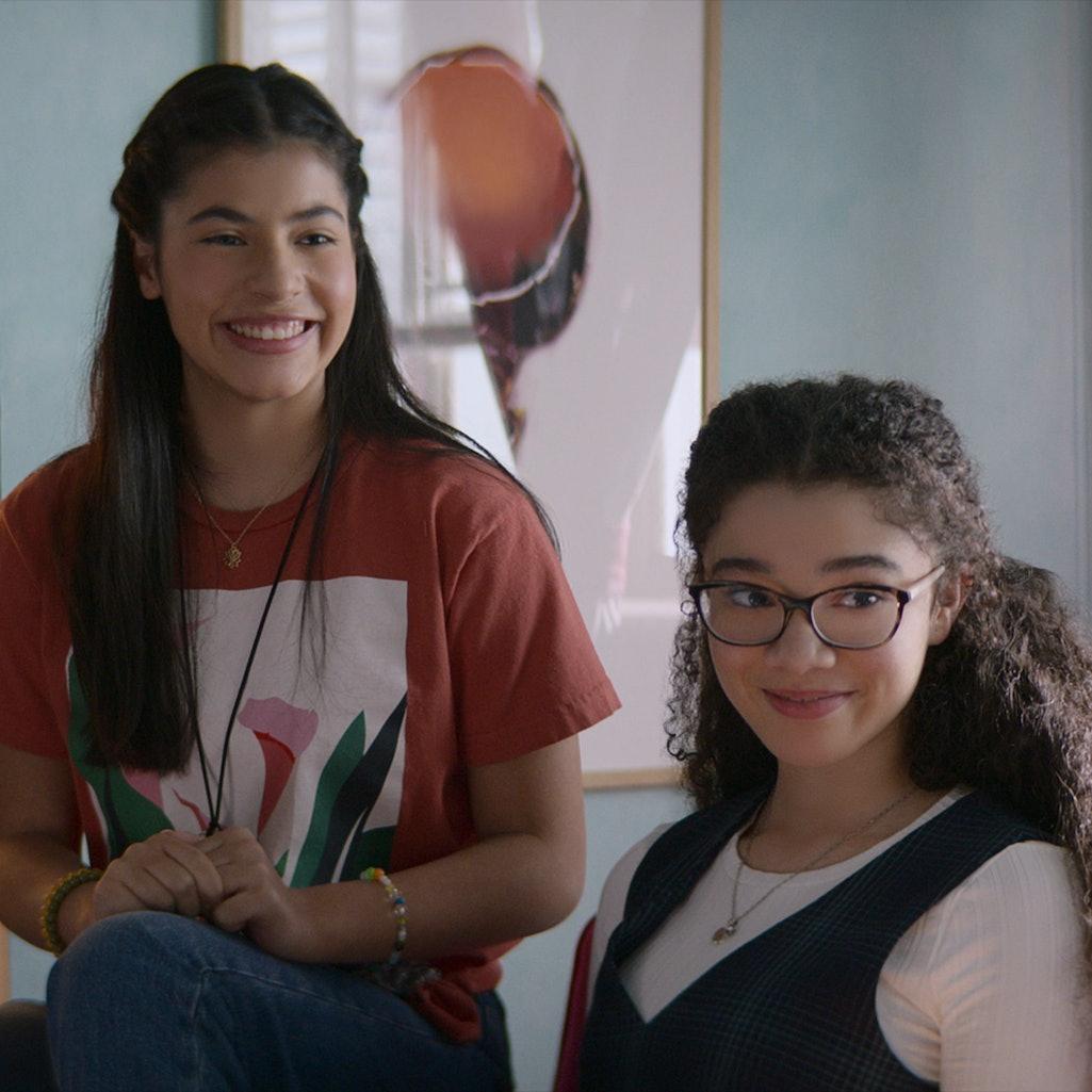 Kyndra Sanchez and Malia Baker in 'The Baby-Sitters Club' (Season 2). Photo courtesy of Netflix.