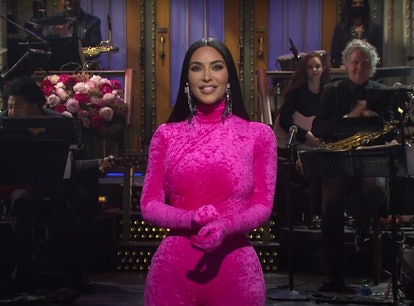 Kim Kardashian's 'SNL' monologue roasted her entire family.