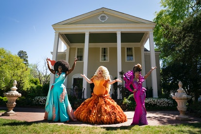 Eureka (middle) with Bob the Drag Queen and Shangela.