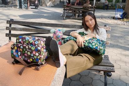 Sandy Liang x Away collaboration.