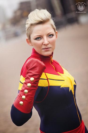 cosplay, Captain Marvel