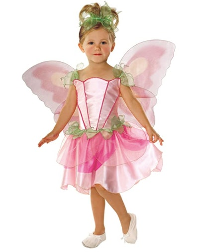 Pink fairy costume for Halloween