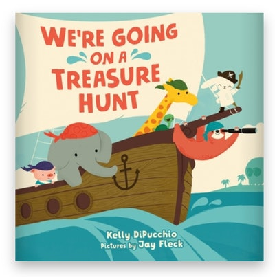 Cover art for 'We're Going on a Treasure Hunt'