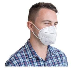 SupplyAID KN95 Face Masks in White (5-pack)