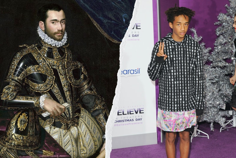 Were dresses made for men? The history of men and skirts may surprise you.