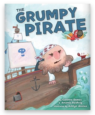 Cover art for 'The Grumpy Pirate'