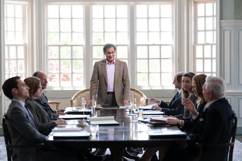 Michael Stuhlbarg as Richard Sackler, weighing legal options in Season 1 of 'Dopesick'.
