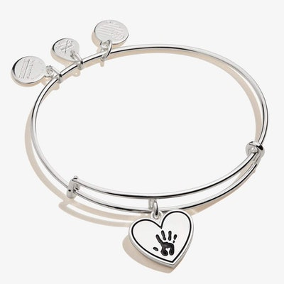 Forever Touched My Heart Charm Bangle