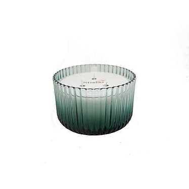 Eucalyptus 3-Wick 16 oz. Fluted Glass Candle