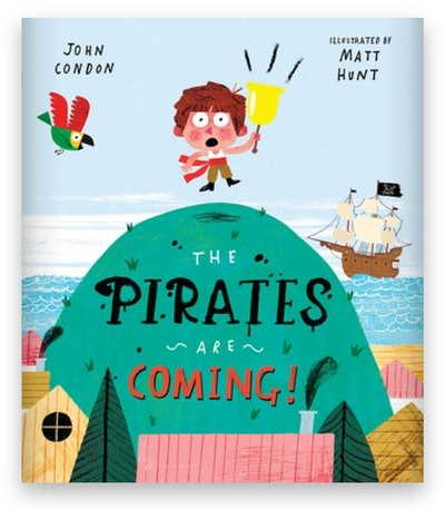 Cover art for 'The Pirates Are Coming!'