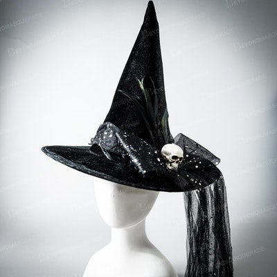Product image for handmade witch hat
