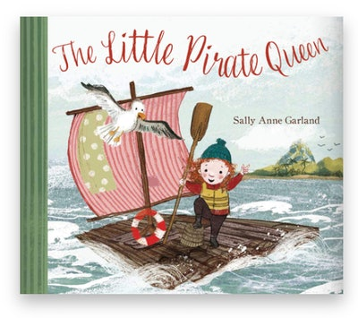 Cover art for 'The Little Pirate Queen'