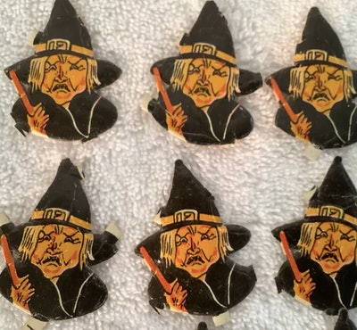 Paper witches from Germany