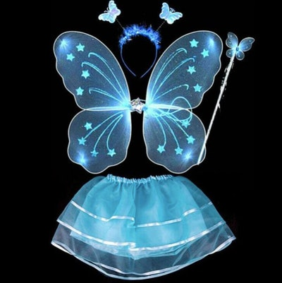 A fairy costume that glows