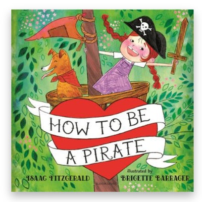 Cover art for 'How to Be a Pirate'