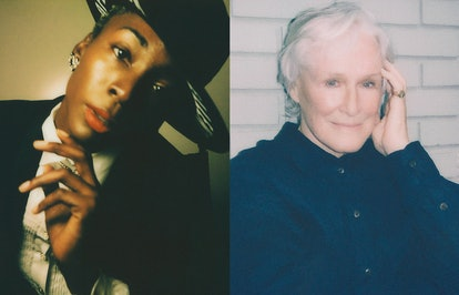 Angelica Ross and Glenn Close