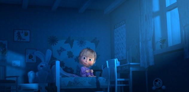 Masha is the main narrator in 'Masha's Spooky Stories.'